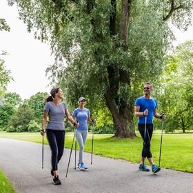 Bild: Nordic Walking - mit Roland Kirchinger