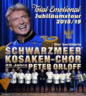 Bild: Peter Orloff & Schwarzmeer-Kosaken Chor - Total Emotional - Jubiläumstournee 2018/2019 - Das Wolgalied
