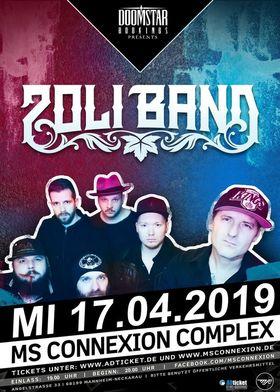 ZOLI BAND (feat. Zoli Téglás of Ignite) - European Tour 2019