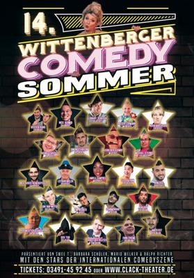 Bild: 14. Comedy Sommer Festival - CLACK Theater-Ensemble und Stargast Lothar Bölck
