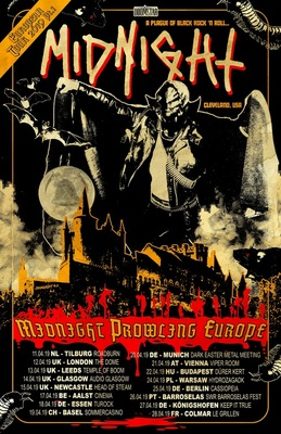 Midnight - Prowling Europe Tour