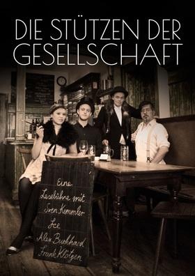 Bild: Fee, Sven Kemmler, Frank Klötgen, Alex Burkhard: Die Stützen der Gesellschaft - Lesebühne