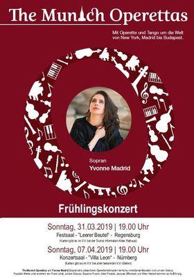 Bild: Frühlingskonzert mit Yvonne Madrid