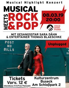 Bild: Musical Highlight Konzert - Musical meets Rock & Pop - - von Cats, Evita, Anastasia zu Queen, Abba und Georg Kreisler u.v.m.