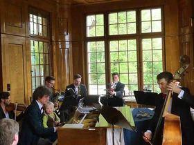 Bild: JAZZFRÜHSCHOPPEN in der Villa Franck - Early Jazz mit dem SALONIKER STRING AND SWING ORCHESTRA