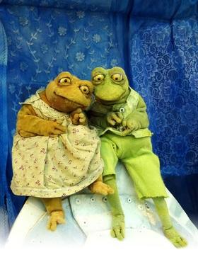 Bild: Frosch und Frieda