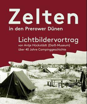 Bild: Zelten in den Prerower-Dünen - Lichtbildervortrag mit Antje Hückstädt
