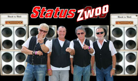 Status Zwoo - THE SONGS . THE SOUND . THE MUSIC OF STATUS QUO - Rockin´ All Over The World