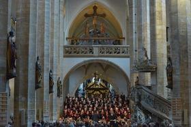 Weihnachtsliedersingen des Freiberger Domchores