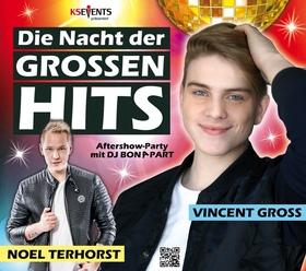 Bild: Die Nacht der großen Hits - Mega Party in Erkner mit Vincent Gross & Noel Terhorst