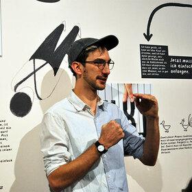 Bild: Im Auge des Betrachters - Ausstellungsführung & Workshop - Mit Dominik Wendland