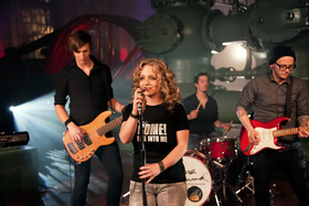 Bild: Christina Rommel und Band