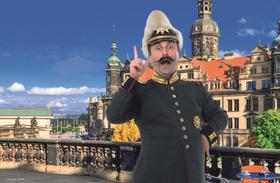 Bild: Dresden: Lustige Rundfahrt in sächsischer Mundart