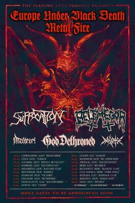 Suffocation, Belphegor & Supports