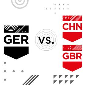 Bild: GER - CHN   GER - GBR