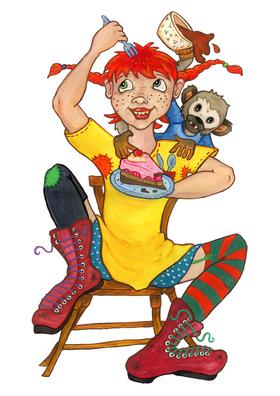 Bild: Pippi feiert Geburtstag - Eine Geburtstagsgeschichte für die ganze Familie