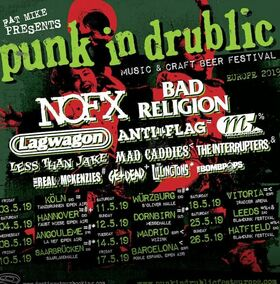PUNK IN DRUBLIC Festival - feat. NOFX, BAD RELIGION, LAGWAGON, LESS THAN JAKE, ANTI-FLAG, BOMBPOPS