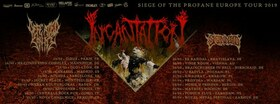 Incantation, Defeated Sanity, Skinned & Supports