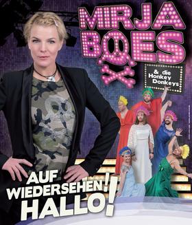 """Bild: Mirja Boes """"Auf Wiedersehen Hallo - Die Willkommenabschiedrevue"""""""