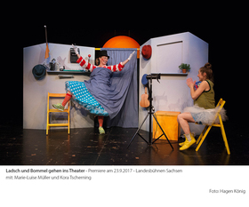 Bild: Ladsch und Bommel gehen ins Theater - Landesbühnen Sachsen
