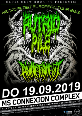 Putrid Pile, Anime Torment & Support