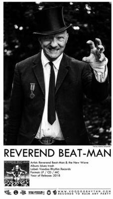 Bild: Reverend Beat-Man & The Devil´s Dandy Dogs - Veranstalter Cafe Kaya e.V. im Künstlerhaus