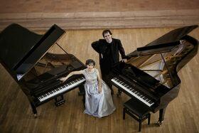 Bild: Klavierduo Sóos & Haag