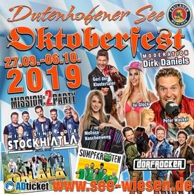 Bild: Oktoberfest 2019 am Dutenhofener See - Oktoberfest meets Ballermann - mit Peter Wackel, Mission 2 Party und Isi Glück