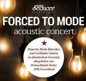 Bild: FORCED TO MODE acoustic concert - Tribute To Depeche Mode