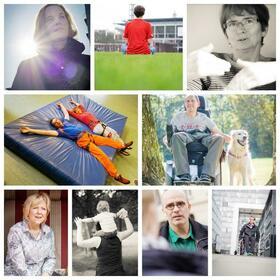 Bild: Spurwechsel - Gesichter der Multiplen Sklerose - Ein Foto-Text-Projekt der DMSG Köln