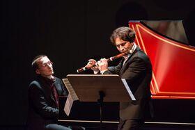 Bild: Professoren im Konzert