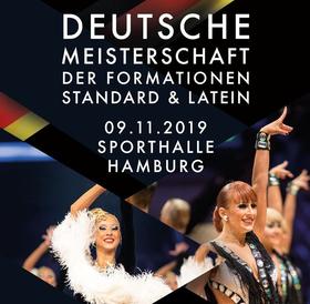 Deutsche Meisterschaft der Formationen Standard & Latein - Finale