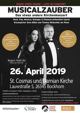 Bild: Musicalzauber - Das etwas andere Kirchenkonzert - - von Cats, Evita, Anastasia zu Queen, Abba und Georg Kreisler u.v.m.