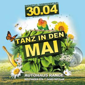 Bild: Tanz In Den Mai in Fritzlar - Im Autohaus Range