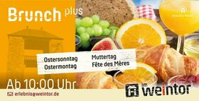 Bild: Brunch plus - Der Muttertags-Brunch Plus - Fête des Mères, 26. Mai - 10:00 Uhr