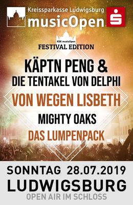 - Festival Edition - - Käptn Peng & die Tentakel von Delphi, Von Wegen Lisbeth, Mighty Oaks, Das Lumpenpack...