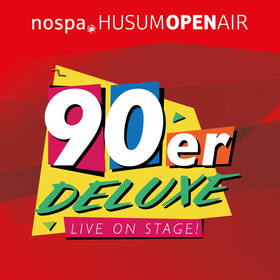 Bild: 90er DELUXE - Live On Stage - nospa. Husum Openair