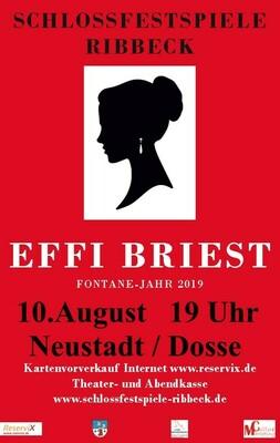 Bild: Effi Briest - Fontane-Jahr 2019 - Neustadt/Dosse