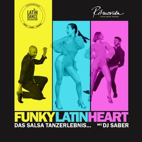 Funky Latin Heart - Das Salsa Tanzerlebnis - Salsa Schnupperkurs- Shows- Salsa Disco mit DJ