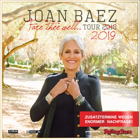Bild: Joan Baez - Fare Thee Well Tour 2019