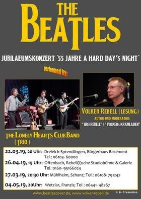 Bild: Volker Rebell & The Lonely Hearts Club Band