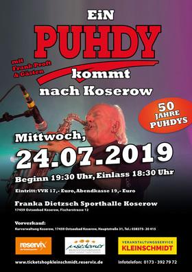 Bild: Ein Puhdy kommt nach Koserow - 50. Jahre Puhdys