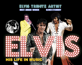Bild: Elvis - His Life in Music - Oliver Steinhoff as Elvis Presley