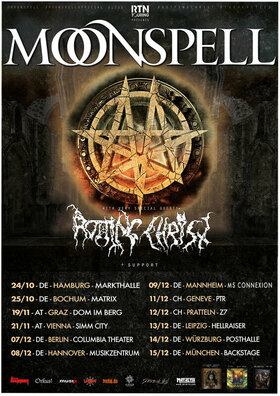 Moonspell - Rotting Christ + Guest