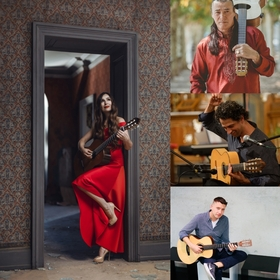 Nacht der Gitarren 2019 - Lulo Reinhardt, Daniel Stelter, Yulia Lonskaya, Itamar Erez