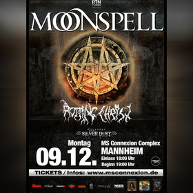 Moonspell - The Fall Of Darkness Tour 2019