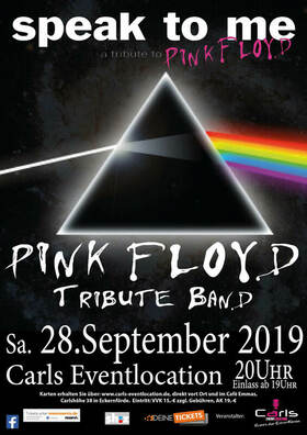 Bild: Speak to me - a tribute to Pink Floyd