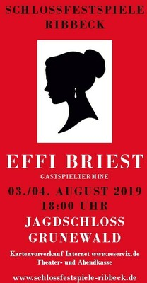 Bild: Effi Briest - Fontane-Jahr 2019 - Jagdschloss Berlin-Grunewald