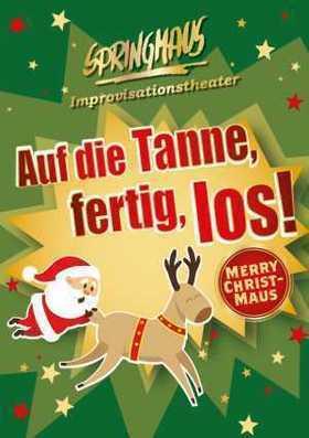 Bild: Springmaus - Merry Christmaus - Auf die Tanne, fertig, los