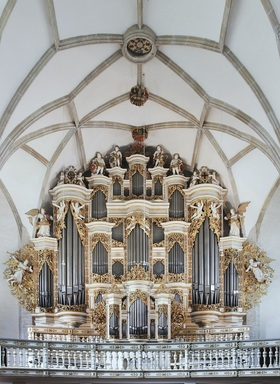 Bild: Das große Abendkonzert – Pilgerchor – ein Orgelkonzert